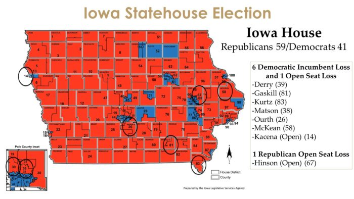 Iowa House Map