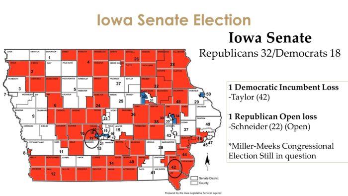Iowa Senate Map